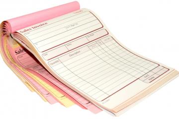 online invoice books printing
