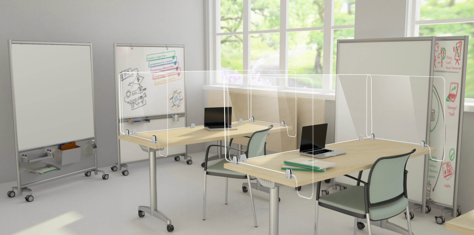 social distance products for business