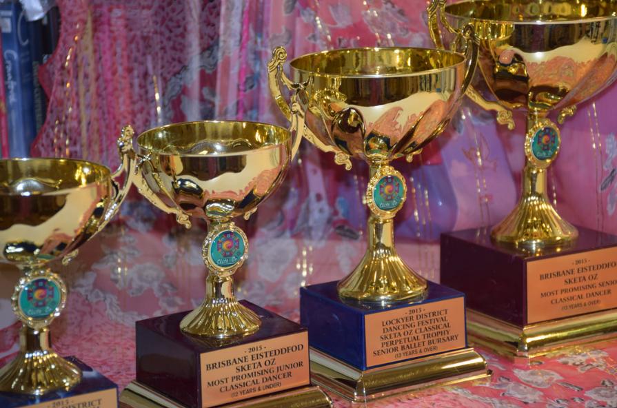 Trophies in Brisbane