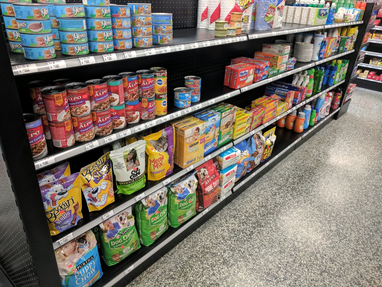 Grocery Shelving Solutions
